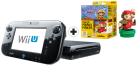 Nintendo Wii U Premium Black + Super Mario Maker & amiibo Mario (klassische Farben), deutsch/ französisch