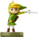 Nintendo amiibo Link cartoon (The Wind Waker)