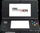 New Nintendo 3DS, schwarz, deutsch/französisch