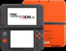 New Nintendo 3DS XL, Orange/Schwarz, deutsch/französisch