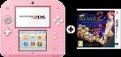 Nintendo 2DS, pink/weiss + New Style Boutique 2, deutsch/französisch