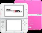 New Nintendo 3DS XL, Pink/Weiss, deutsch/französisch