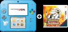 Nintendo 2DS Sepcial Edition - Pokémon Sonne, deutsch/französisch