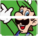 New Nintendo 3DS Cover, Luigi