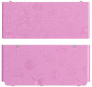 New Nintendo 3DS Cover, Mario World rosa