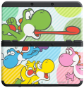New Nintendo 3DS Cover, Bunte Yoshis