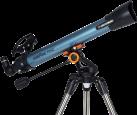 Celestron Inspire 70 AZ - télescope - 700mm - bleu