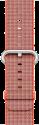 Apple Bracelet en nylon tissé 38 mm, orange solaire/anthracite