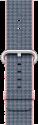 Apple 42 mm Armband aus gewebtem Nylon, Hellrosa/Mitternachtsblau