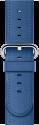 Apple 38 mm Klassisches Lederarmband, Meerblau