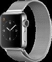 Apple Watch Series 2 - Edelstahlgehäuse mit Milanaise Armband - 38 mm - Edelstahl
