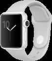 Apple Watch Series 2 - Cassa in ceramica bianca con cinturino Sport - 38 mm - nuvola