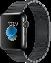 Apple Watch Series 2 - Edelstahlgehäuse, Space Schwarz mit Gliederarmband - 42 mm - Space Schwarz