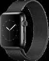 Apple Watch Series 2 - Edelstahlgehäuse, Space Schwarz mit Milanaise Armband - 42 mm - Space Schwarz