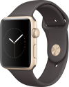Apple Watch Series 2 - Aluminiumgehäuse, Gold mit Sportarmband - 42 mm - Kakao