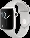 Apple Watch Series 2 - Cassa in ceramica bianca con cinturino Sport - 42 mm - nuvola