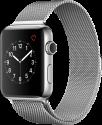 Apple Watch Series 2 - Edelstahlgehäuse mit Milanaise Armband - 42 mm - Edelstahl