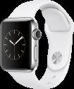 Apple Watch Series 2 - Edelstahlgehäuse mit Sportarmband - 38 mm - Weiss