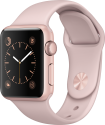 Apple Watch Series 1 - Cassa in alluminio color oro rosa con cinturino Sport - 38 mm - rosa sabbia