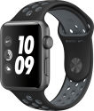 Apple Watch Nike+ - Aluminiumgehäuse, Space Grau mit Nike Sportarmband - 42 mm - Schwarz/Cool Gray