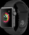Apple Watch Series 2 - Boîtier en aluminium gris sidéral avec Bracelet Sport - 38 mm - noir