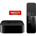 Apple TV 4K - Boîtier multimédia - 4K HDR - Bluetooth - 32 Go - Noir