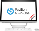 HP Pavilion 27-a124nz - All-in-One - 1 TB - bianco