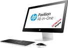HP Pavilion 23-q214nz - All-in-One - 1 TB HDD - Weiss