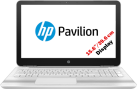 HP Pavilion 15-au144nz - Notebook - Full HD-Display 15.6 / 39.6 cm - Weiss
