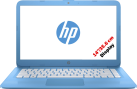 hp Stream 14-ax010nz - Notebook - 32 GB eMMC - Blau