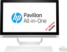 HP Pavilion 27-a220nz - All-in-One Desktop PC - 27 / 68.6 cm - Weiss