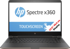 hp Spectre x360 15-BL090NZ - Notebook - Touchscreen Full HD 15,6 / 39,6 cm - Schwarz