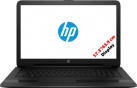 hp 17-X034NZ - Ordinateur portable - 17.3 / 43.94 cm - Noir