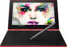 Lenovo YOGA Book YB1-X91F - convertible - 128 Go - Rouge