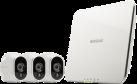 NETGEAR Arlo VMS3330 - Videoserver + Kameras - drahtlos - Weiss