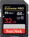 SanDisk Extreme PRO - SDHC Memory Card - 32 GB