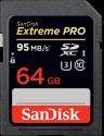 SanDisk Extreme PRO - SDXC Memory Card - 64 GB