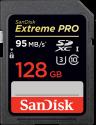 SanDisk Extreme PRO - SDXC Memory Card - 128 GB