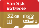 SanDisk Extreme - Micro SD - 32 Go