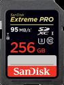 SanDisk Extreme 90MB/s SDXC V30 - Scheda di memoria - 256GB - Nero