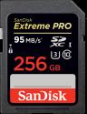 SanDisk Extreme PRO - SDXC Memory Card - 256 Go