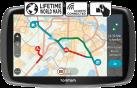 TOMTOM GO 5100 - Navigationssystem - Schwarz