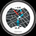 TomTom VIO - Instrument de navigation - Conçu pour les scooters - noir
