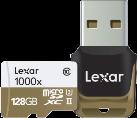 Lexar Professional 1000x - Micro SDXC - 128 GB