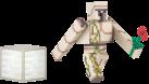 Minecraft: Overworld - Figur Iron Golem