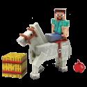 Minecraft: Overworld - Figur Steve White Horse