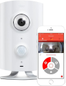 Piper Classic - Home Security Wireless Cam - 180 Grad Ultra-Weitwinkel - Weiss