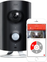Piper Classic - Home Security Wireless Cam - Visuale a 180 gradi - nero