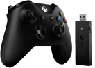 Microsoft Xbox Controller + Wireless Adapter for Windows - Nero