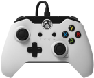 PDP Wired Controller - Xbox One/PC - blanc